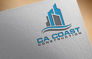 CA Coast Construction Logo - Entry #229