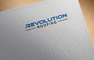 Revolution Roofing Logo - Entry #204