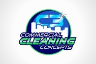 Commercial Cleaning Concepts Logo - Entry #100