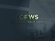 "Open Road Wealth Services, LLC  (The ""LLC"" can be dropped for design purposes.) Logo - Entry #33"