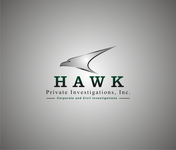 Hawk Private Investigations, Inc. Logo - Entry #55