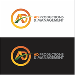 Corporate Logo Design 'AD Productions & Management' - Entry #115