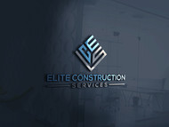 Elite Construction Services or ECS Logo - Entry #6