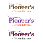 Restaurant LOGO for     Pioneer's Western Kitchen - Entry #130
