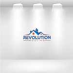 Revolution Roofing Logo - Entry #107