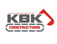 KBK constructions Logo - Entry #102