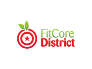 FitCore District Logo - Entry #50