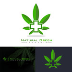 Natural Green Cannabis Logo - Entry #15
