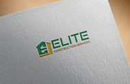 Elite Construction Services or ECS Logo - Entry #112