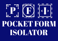Pocket Form Isolator Logo - Entry #95