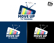 Move Up TV Training  Logo - Entry #80