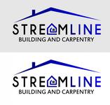 STREAMLINE building & carpentry Logo - Entry #98