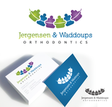 Jergensen and Waddoups Orthodontics Logo - Entry #19