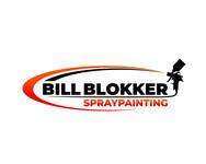 Bill Blokker Spraypainting Logo - Entry #12