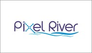 Pixel River Logo - Online Marketing Agency - Entry #54
