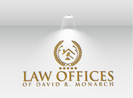 Law Offices of David R. Monarch Logo - Entry #232