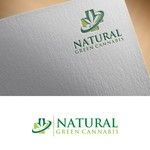 Natural Green Cannabis Logo - Entry #133
