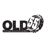 """""""OLD 55"""" - mid-century vintage furniture and wares store Logo - Entry #164"""