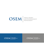 Omega Sports and Entertainment Management (OSEM) Logo - Entry #34