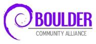 Boulder Community Alliance Logo - Entry #46
