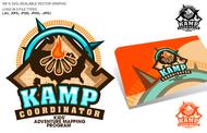 KAMPcoordinator : Kids' Adventure Mapping Program   Logo - Entry #18
