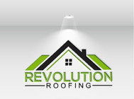 Revolution Roofing Logo - Entry #389