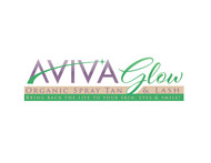 AVIVA Glow - Organic Spray Tan & Lash Logo - Entry #57