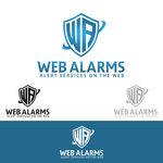 Logo for WebAlarms - Alert services on the web - Entry #164