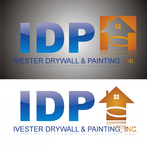 IVESTER DRYWALL & PAINTING, INC. Logo - Entry #84
