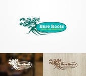 Bare Roots Color & Hair Design Studio Logo - Entry #35