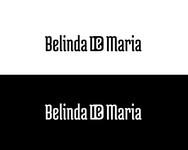 Belinda De Maria Logo - Entry #58