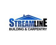 STREAMLINE building & carpentry Logo - Entry #26