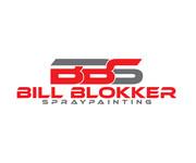 Bill Blokker Spraypainting Logo - Entry #219