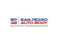 San Pedro Auto Body Logo - Entry #120