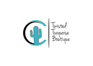 Twisted Turquoise Boutique Logo - Entry #25