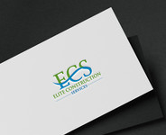 Elite Construction Services or ECS Logo - Entry #180