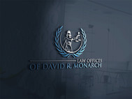 Law Offices of David R. Monarch Logo - Entry #153