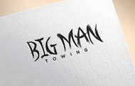Big Man Towing Logo - Entry #115