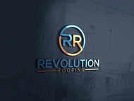Revolution Roofing Logo - Entry #211