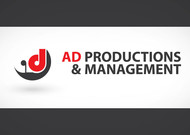Corporate Logo Design 'AD Productions & Management' - Entry #4