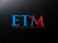 ETM Advertising Specialties Logo - Entry #111