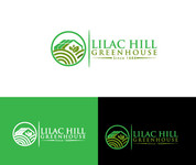 Lilac Hill Greenhouse Logo - Entry #68