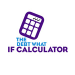 The Debt What If Calculator Logo - Entry #3