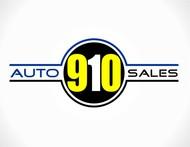 910 Auto Sales Logo - Entry #39