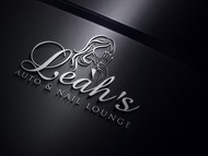 Leah's auto & nail lounge Logo - Entry #79