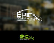 Epic Fishing Tackle Logo - Entry #64