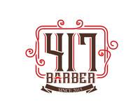 417 Barber Logo - Entry #59