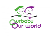 Logo for our Baby product store - Our Baby Our World - Entry #58