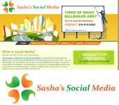 Sasha's Social Media Logo - Entry #190