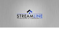 STREAMLINE building & carpentry Logo - Entry #155